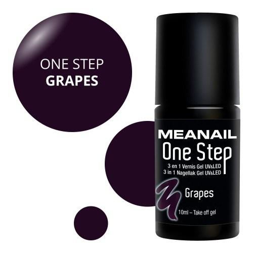 Vue détaillée de vernis Grapes