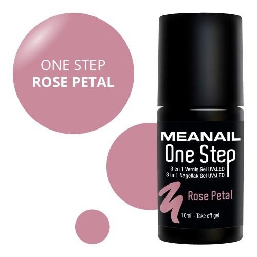 Vue détaillée de vernis Rose Petal