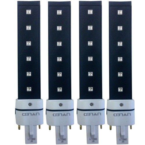 Photo de Kit 4 Bulbs UV/LED 6W