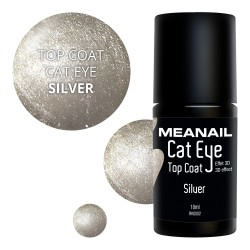 Top Coat Cat Eye Silver