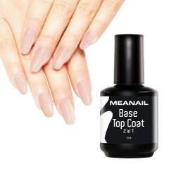 Image de vernis Base et Top Coat 2en1 15ml