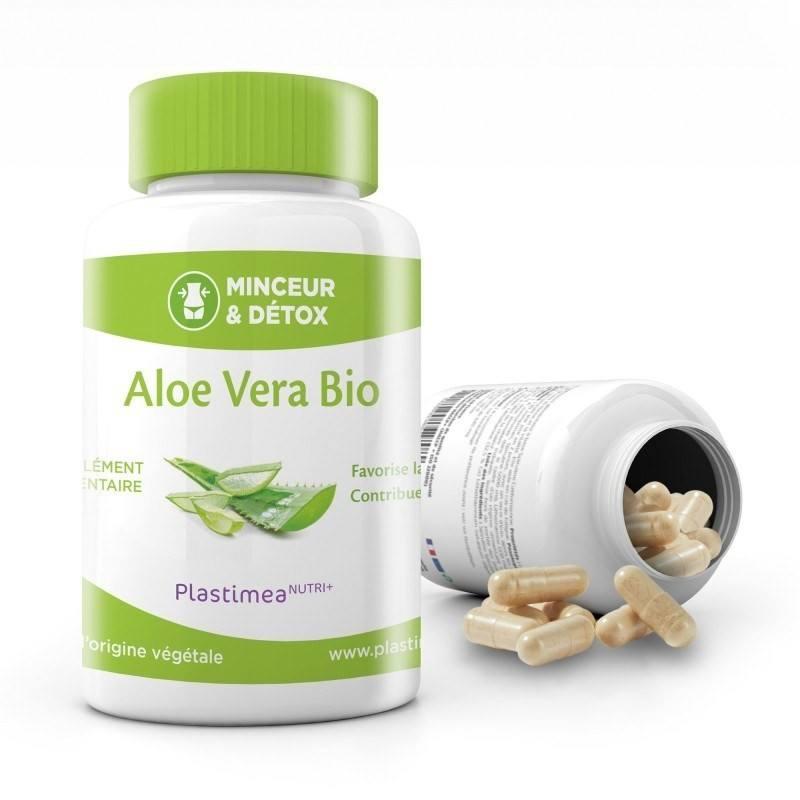 Aloe vera Bio - 30 gélules - 2000mg