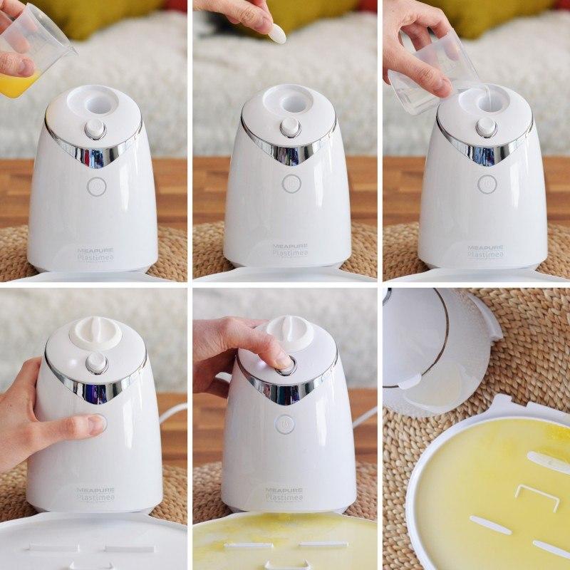 Appareil Pour Creer Des Masques Fait Maison Masques Visage Diy Meapure Soin Visage 2 En 1 Collagene Fruits Legumes Huiles Achat Vente Masque Visage Patch Meapure Cdiscount