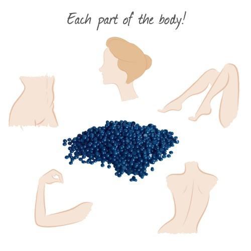 KIT Epilation MEALISS® • 1kg de cire pelable pour 1 an d'utilisation • Corps et Visage