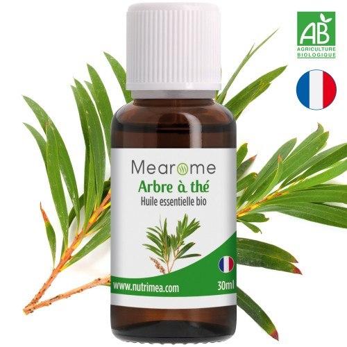 Huile essentielle d'arbre à thé bio HEBBD HECT - 30 ml