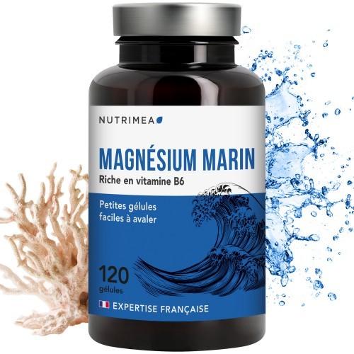Magnésium Marin + Vitamine B6 - 120 gélules