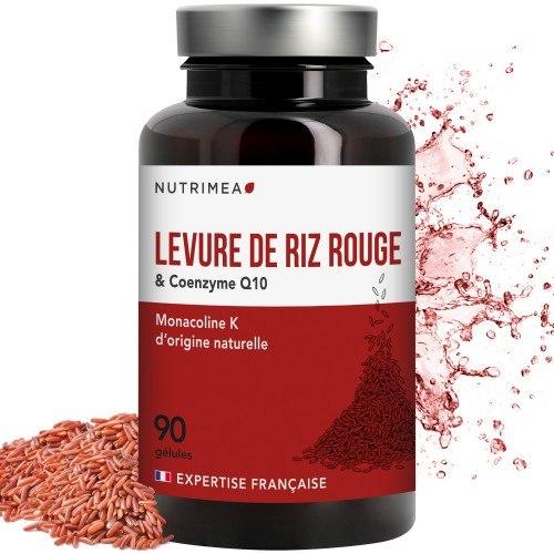 Levure de Riz Rouge + CoQ10 - 90 gélules - 600mg