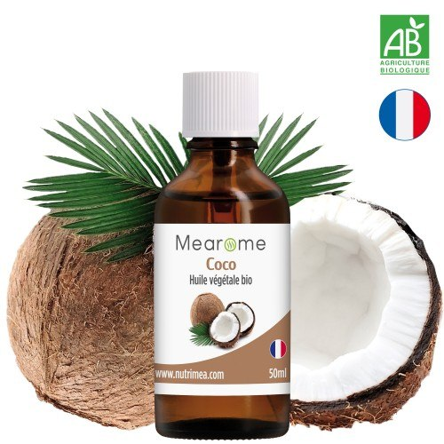 COCO - Huile Végétale BIO vierge - 50 ml