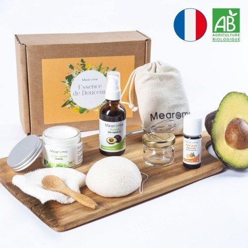 Kit cosmétique DIY hydratant nourrissant BIO