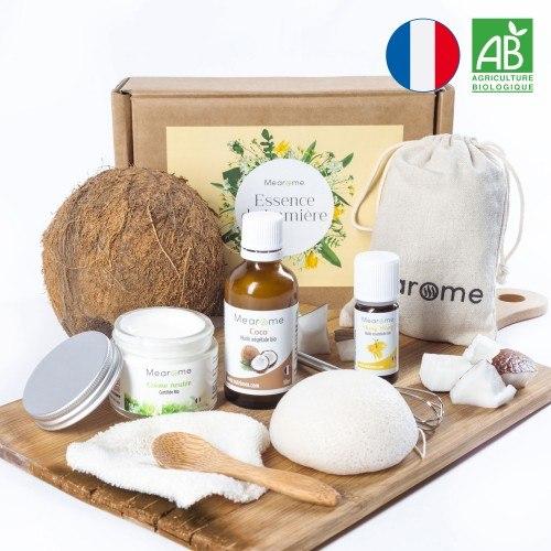 Kit cosmétique DIY BIO coco ylang