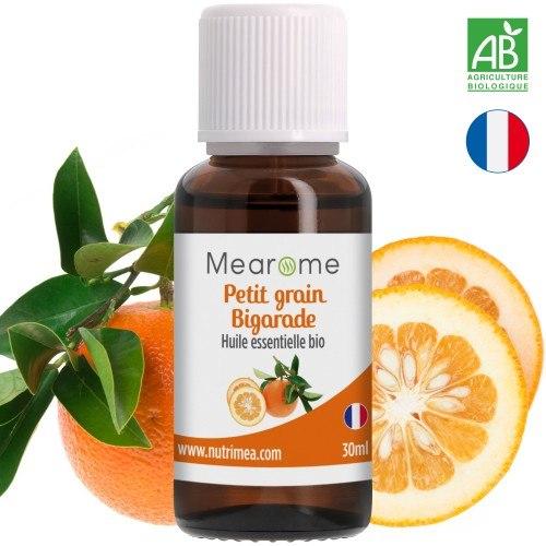 PETIT GRAIN BIGARADE - huile essentielle BIO - 30 ml
