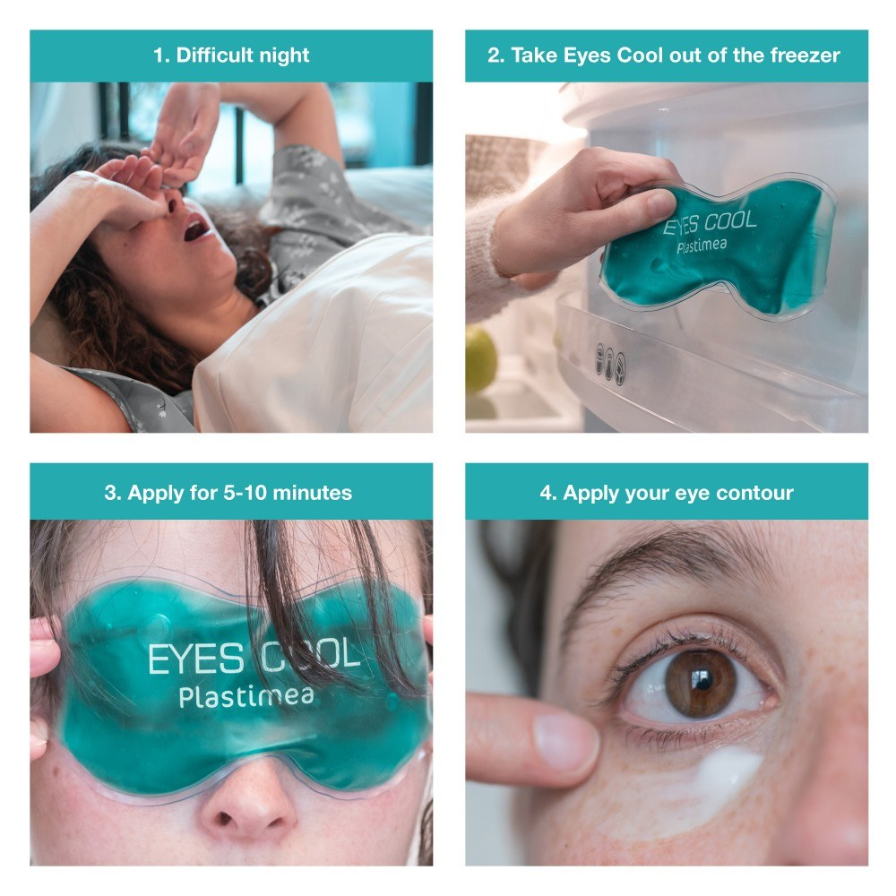 masque froid yeux anti cernes