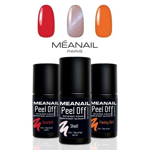 Trio Peel-off : SCARLETT, SHELL et FLASHY GIRL