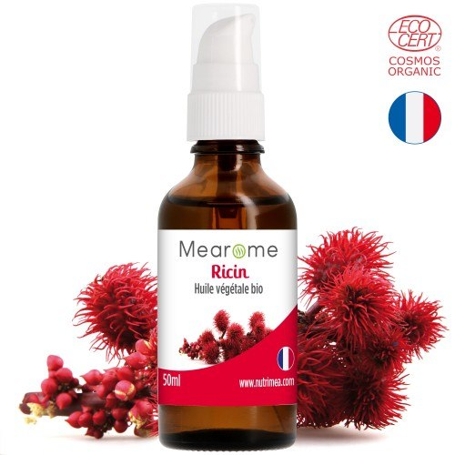RICIN - Huile végétale BIO vierge - 50 ml