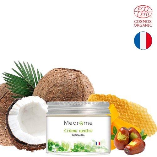 Crème hydratante neutre - Certifiée BIO COSMOS