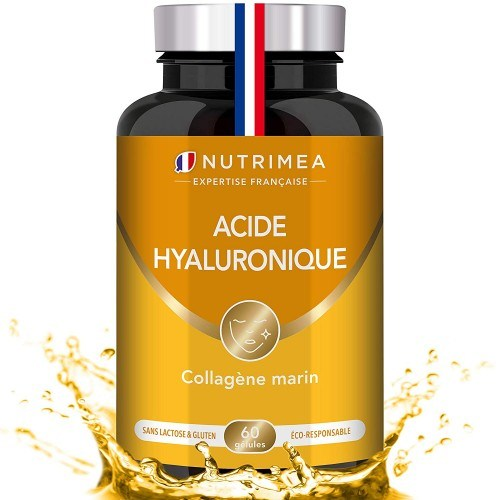 Acide Hyaluronique et Collagène Marin - 60 gélules