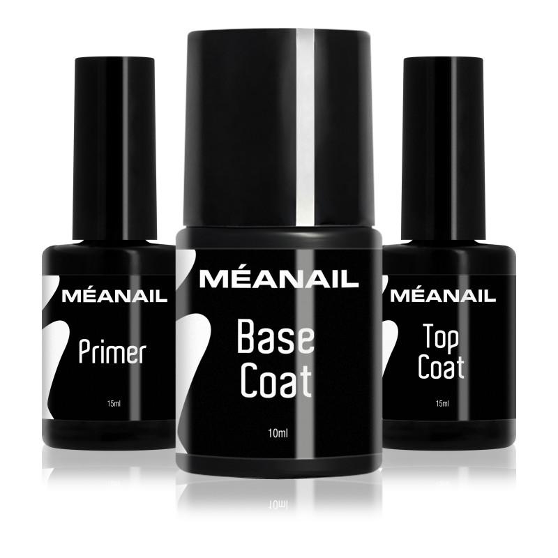 TRIO : 1 primer + 1 base + 1 top coat