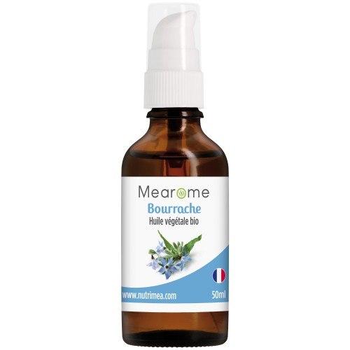 BOURRACHE - Huile Végétale BIO vierge - 50 ml