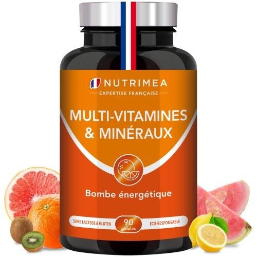 Booster Tonus Multi-vitamines et minéraux - 90 gélules