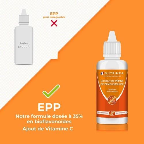 Extrait de Pépins de Pamplemousse - EPP - 50ml