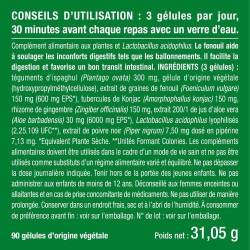 Photo du packaging du complément HerbaCol - Complexe 6 plantes et ferments lactiques