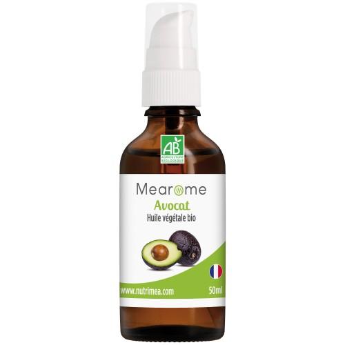 AVOCAT - Huile végétale BIO 50 ml