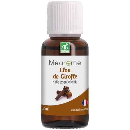 CLOU DE GIROFLE - Huile Essentielle Bio AB 30 ml