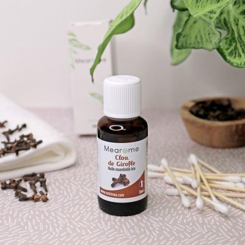 CLOU DE GIROFLE - Huile Essentielle Bio 30 ml HEBBD - HECT