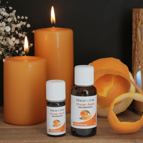 ORANGE DOUCE – Huile Essentielle Bio 30 ml HEBBD - HECT