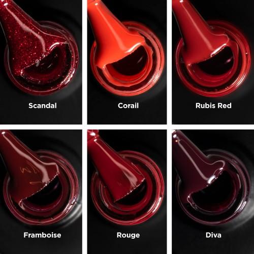 Coffret Rouge Peel-Off