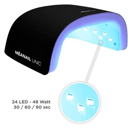 KIT EDITION LIMITEE - Manucure semi-permanente - 12 accessoires et lampe UV Noire 36W