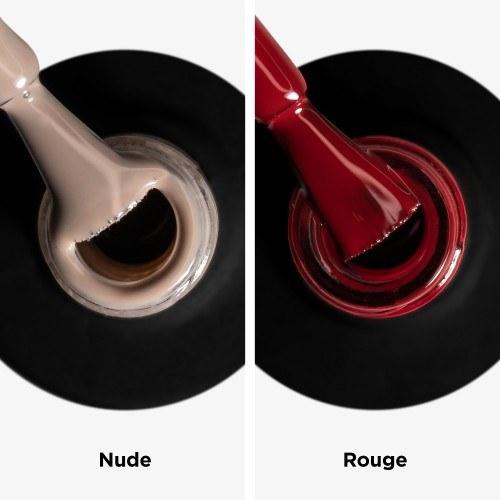 kit Peel off Nude + Rouge