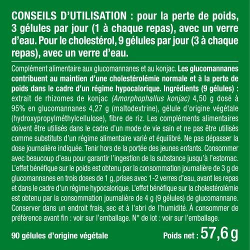 Photo du packaging du complément Pur Konjac