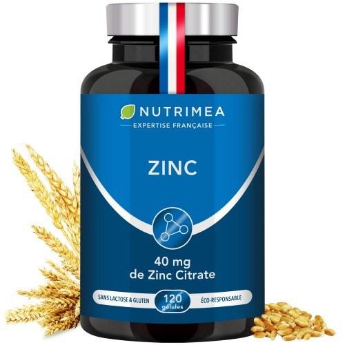 Photo du complément alimentaire ZINC Citrate