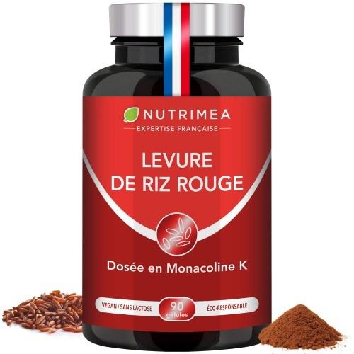 Illustration du pilulier du supplément Levure de Riz Rouge + CoQ10 - 600mg