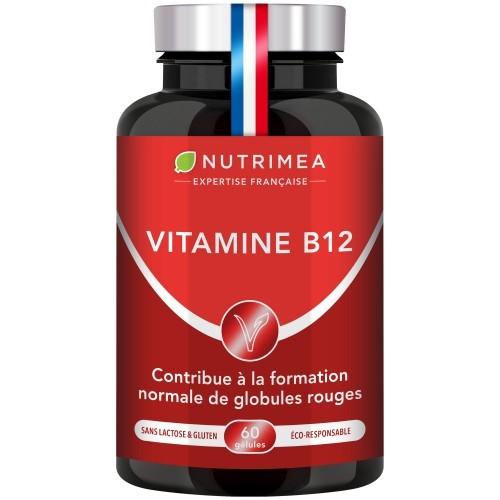Illustration du pilulier du supplément VITAMINE B12