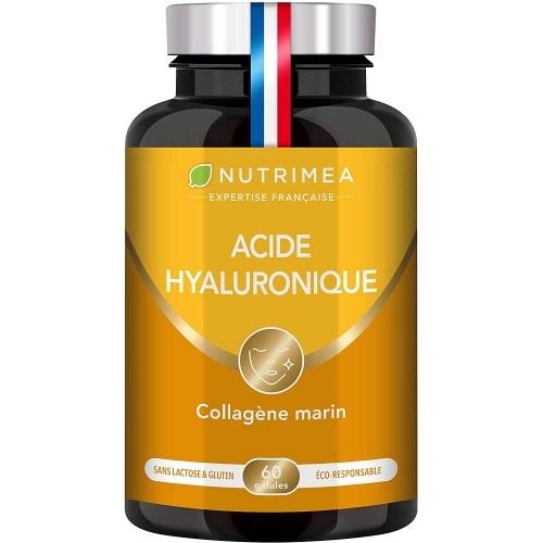 Photo du packaging du complément Acide Hyaluronique et Collagène Marin